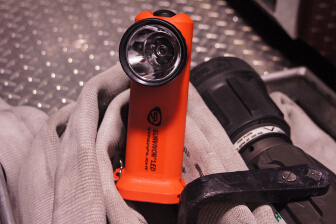 Streamlight also makes use of an optic to help focus the light.